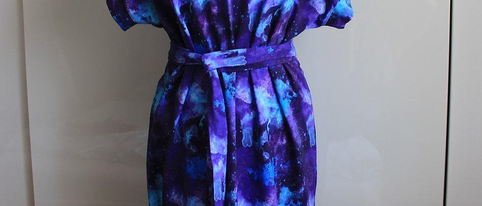 Úpletové šaty Námraza