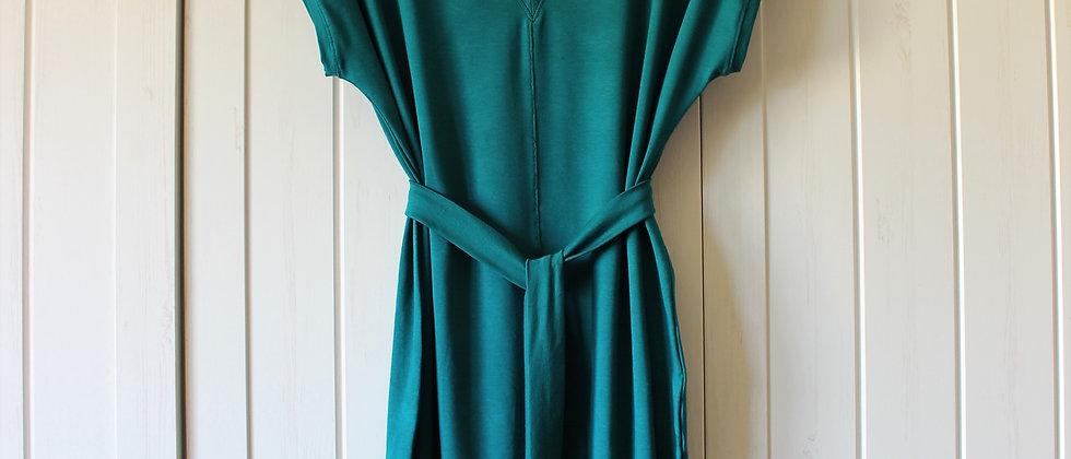 Úpletové šaty Smaragd