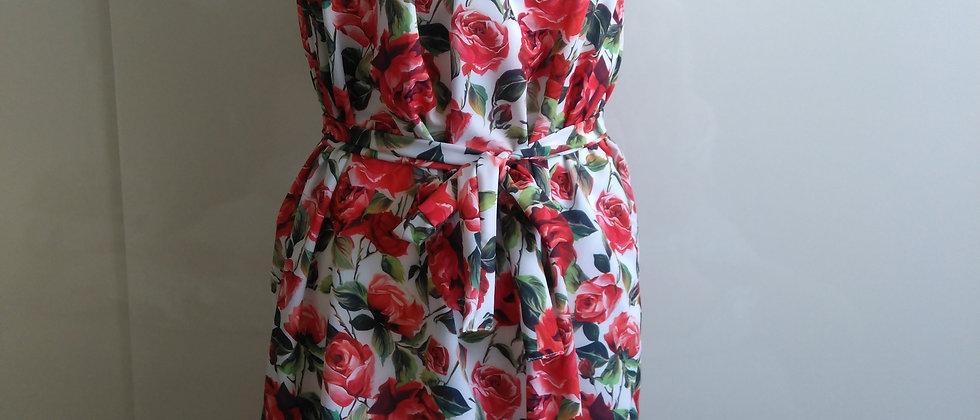 Lehké šaty Růže