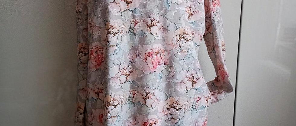 Šaty Akvarelové růže