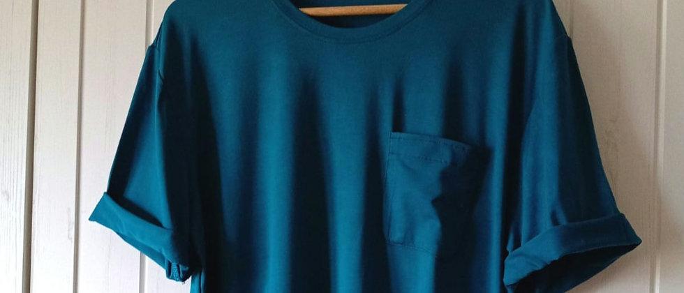 Pánské tričko Petrolej