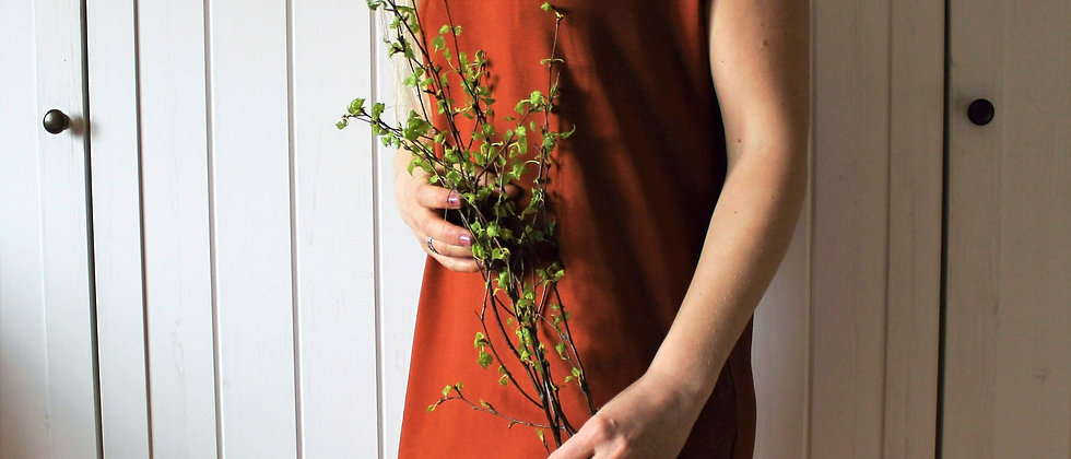 Úpletové šaty Rusty