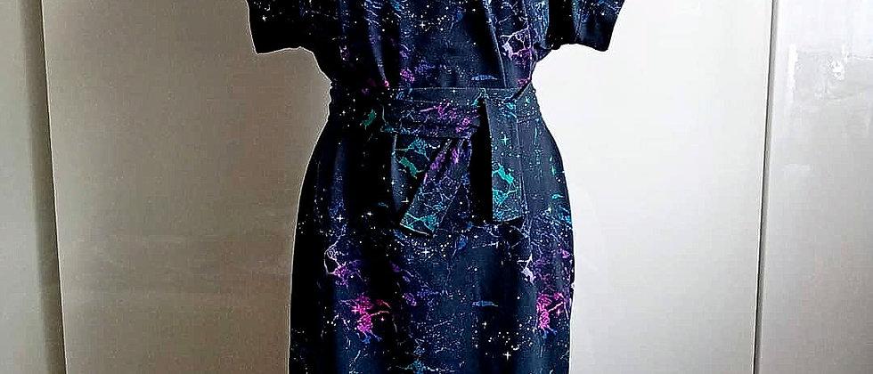 Úpletové šaty Galaxie