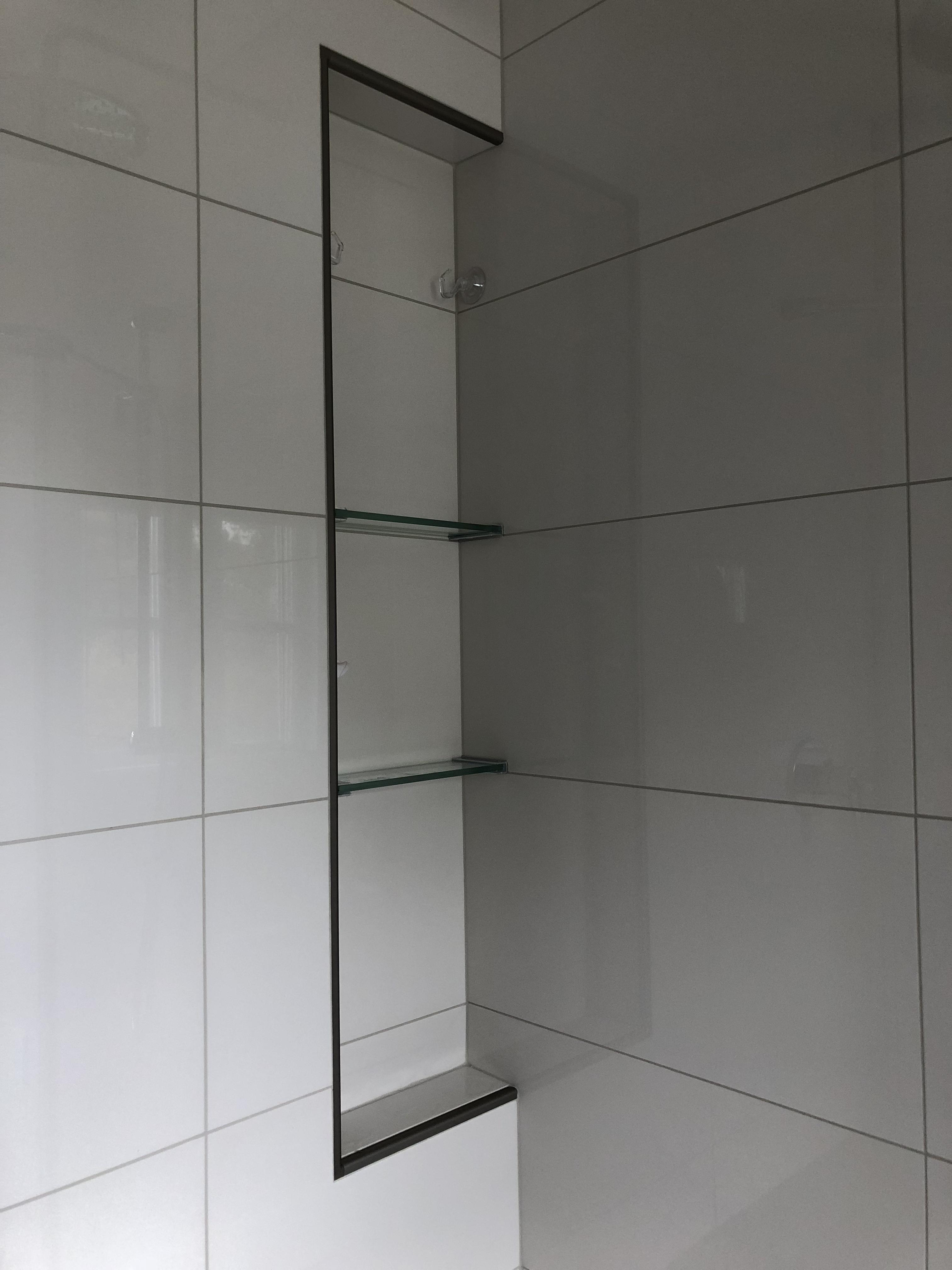 niche sur mesure douche vitrerie