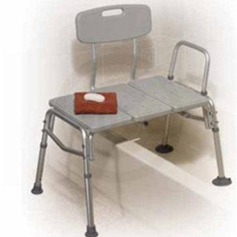 Tub Splash defense transfer bench White / Silla de Transferencia