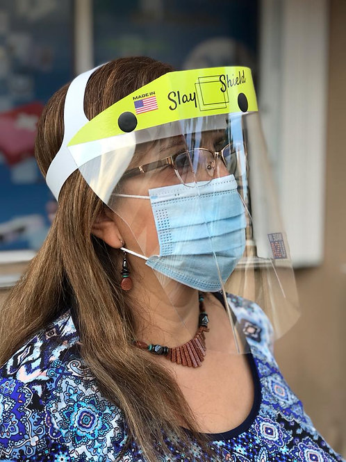 Face Shield - Heavy Duty - Durable and Washable