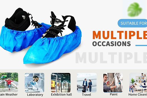 Disposable Shoe & Boot Covers  for Multiple Occasions (pair $0.25)