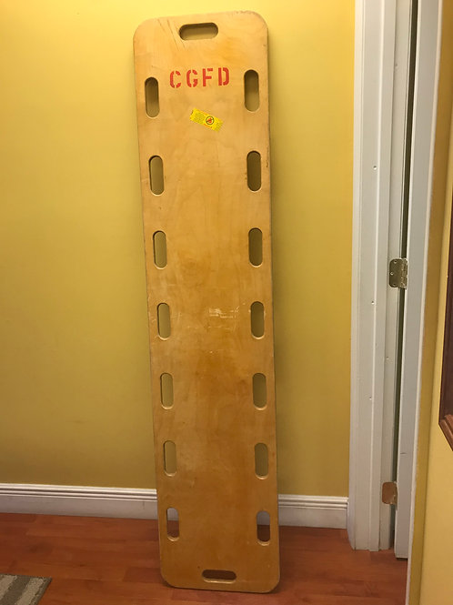 Wooden Spine Board - Used