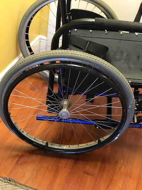 Quickie LX  Wheelchair (incomplete)