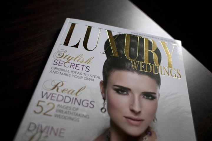 Cake Featured in Luxury Weddings Magazine