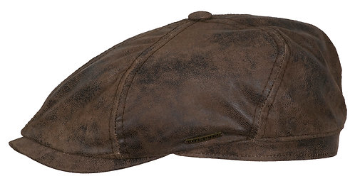 Stetson 6-Panel Cap Pigskin Brown
