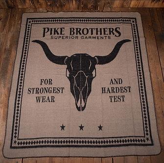 1969 Longhorn Blanket, Black
