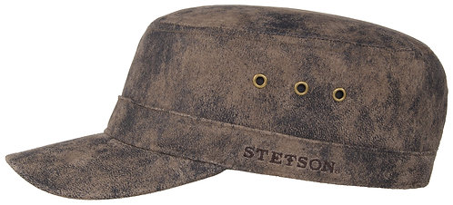 Stetson Army Cap Pigskin