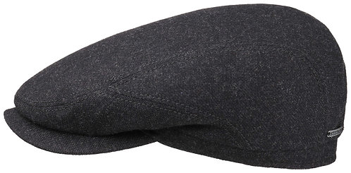 Stetson Driver Cap Virgin Wool/Cashmere, Grey