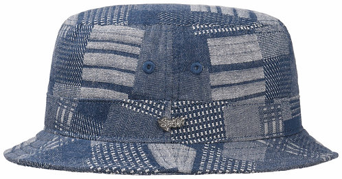 Stetson Bucket Denim Patchwork