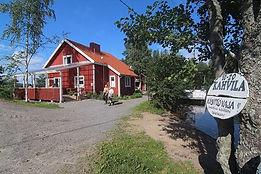 Miekankosken kahvila on suosittu matkailu- ja kalastuskohde 5-tien tuntumassa Mäntyharjussa