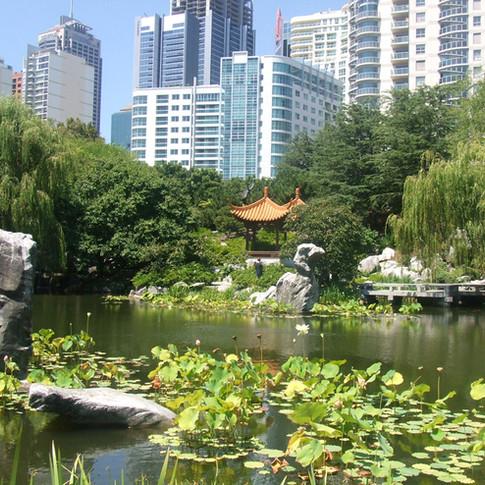 Jardim em Sydney
