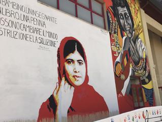 La gallery dei risultati del bando di street art del progetto i-krè