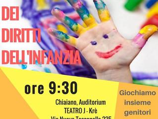Giornata dei diritti dell'infanzia ore 9.30