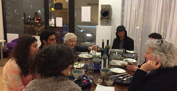 Good Mourning Café, 2016  The Good Mourning Cafe is a social experiment and community outreach program, providing a safe space for mourning. The cafe fosters a sense of community, providing a space to share comfort food, conversation, performances and visual art exhibitions.