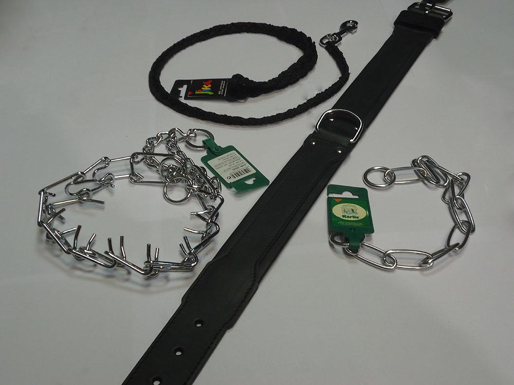 Laisses, colliers et harnais