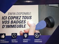 Les badges immeuble
