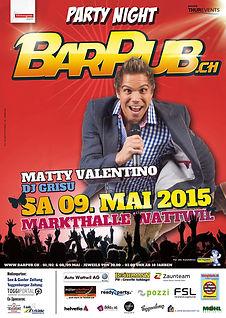 PartyNight 2015 - Matty Valentino, DJ Grisu
