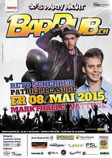 90's PartyNight 2015 - DJ Reto Scherrer,Patric Pleasure