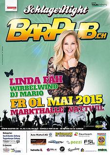 SchlagerNight 2015 - Linda Fäh, Wirbelwind, DJ Mario