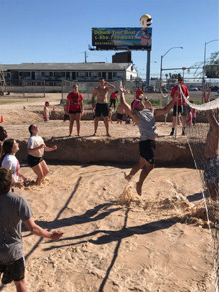 One of UNLV's Longest Standing Traditions, Oozeball: Volleyball in the Mud