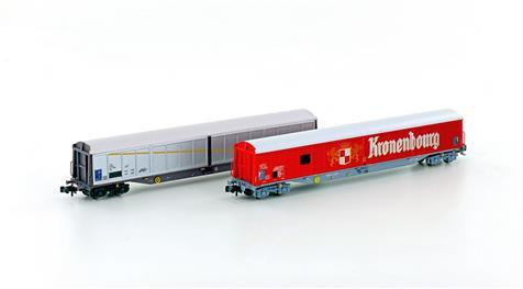 Hobbytrain SNCF Set de 2 Wagons couverts