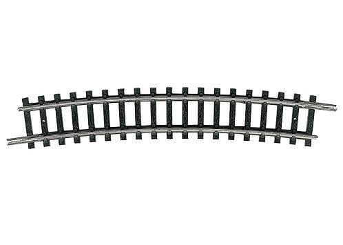 Minitrix rail courbe R4-15°