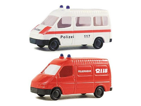 Rietze set Ford Transit