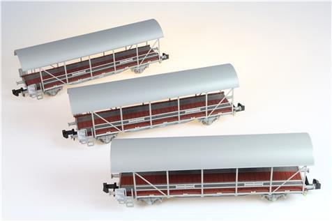 Liliput Set de 3 wagons porte-autos BLS
