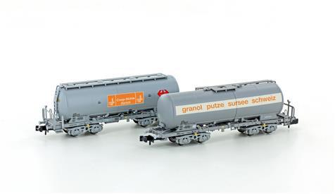 Hobbytrain CFF set de 2 Wagons silos COOP-Granol