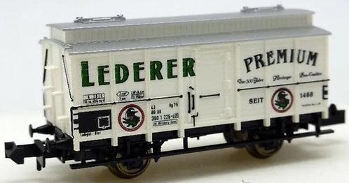 """Minitrix wagon à bières """"Lederer"""""""
