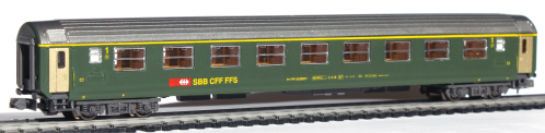 Hobbytrain voiture CFF RIC 1.cl