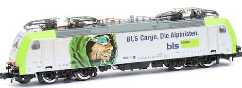 """Minitrix BLS Re 486 """"Alpinistes"""" DCC"""