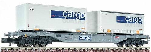 Fleischmann Wagon porte-Container CFF Cargo Domino