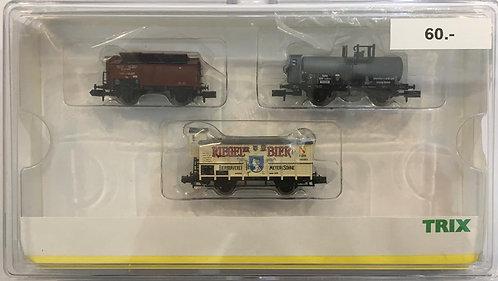 Minitrix Coffret Wagons marchandises