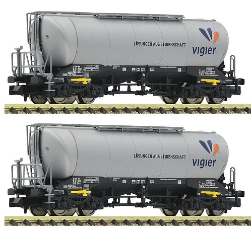Fleischmann coffret de 2 wagons silos Vigier