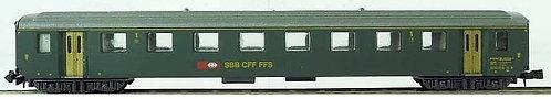 Lima CFF voiture VU I 1.cl nouveau logo