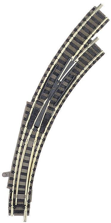 Fleischmann aiguillage courbe à droite avec ballast