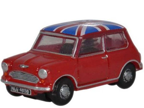 Oxford Mini Cooper rouge