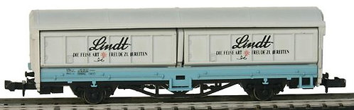 Ibertren CFF wagon couvert Lindt