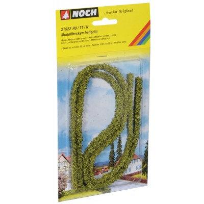 Noch Modellhecken grün 1x0,6cm, je 50cm lang