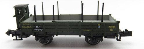 Minitrix wagon plat à rancher KBay