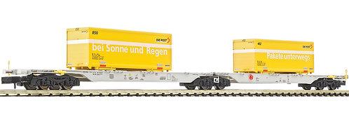 """Fleischmann Wagon porte-Container CFF """"La Poste"""""""""""