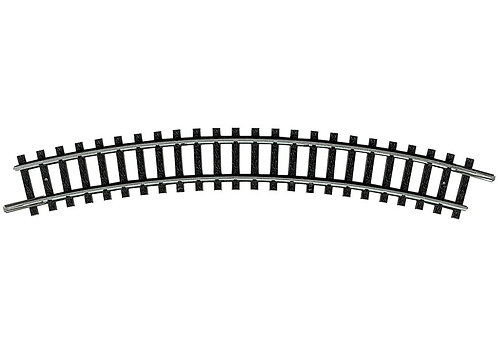 Minitrix rail courbe R2-30°