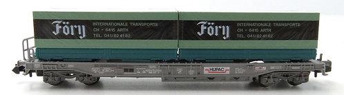 Roco Hupac wagon porte-conteneurs Föry